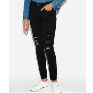 😍NWT😍 Express Mid Rise Jeggings Skinny Jeans 6